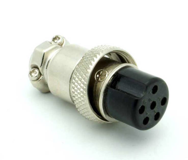 Разъем кабеля катушки, 6 pin.