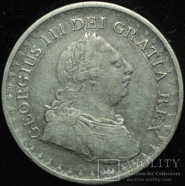 Великобритания 3 шиллинга 1811 серебро