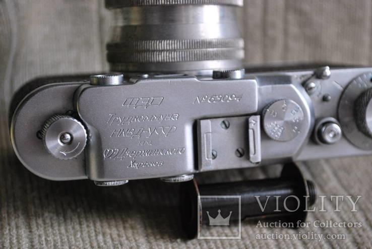 ФЭД - НКВД УССР № 63094, с Sonnar 2/50mm, фото №9