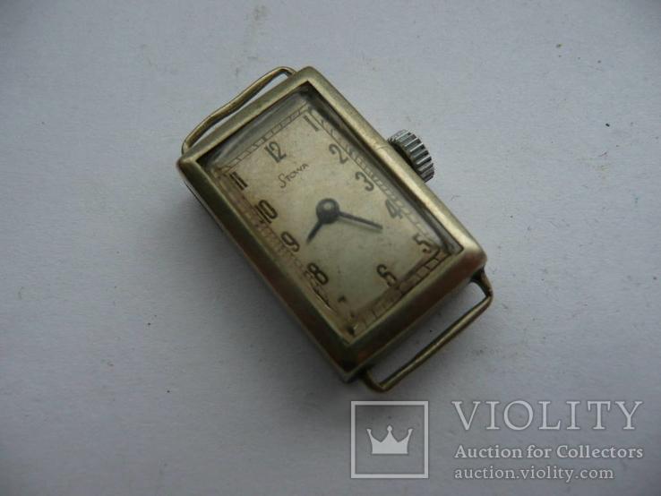 Старинные часы Stowa Швейцария, фото №2