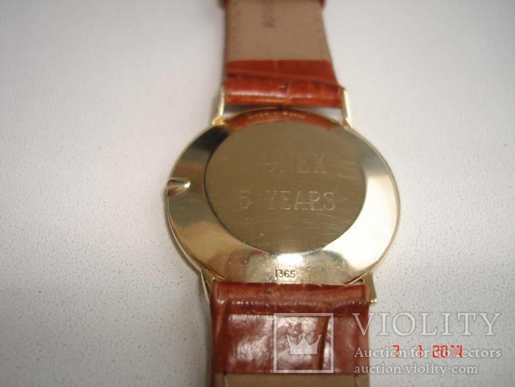 Часы золотые Омега, фото №4