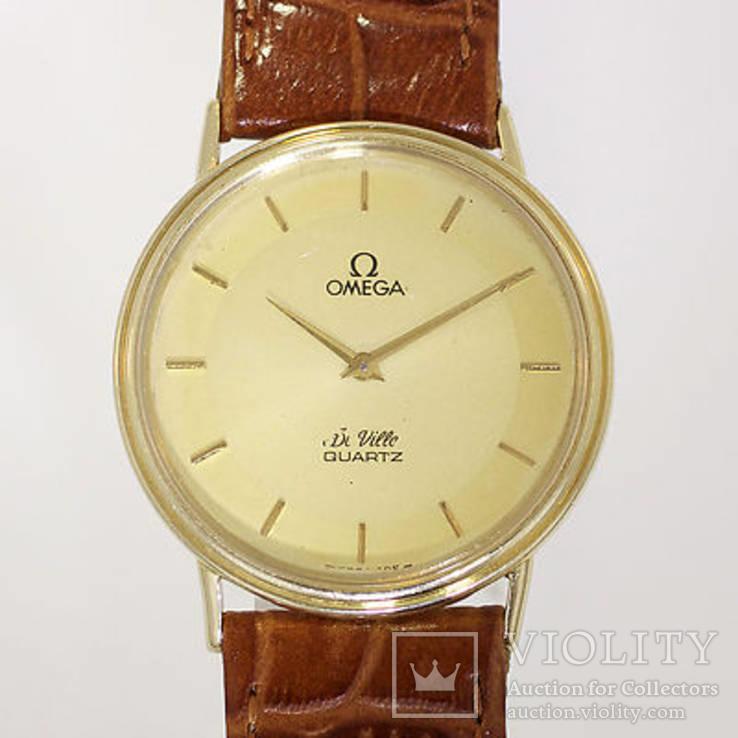Часы золотые Омега, фото №2