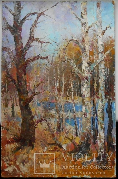 П.П. Шевчук Осень в лесу 32*48см