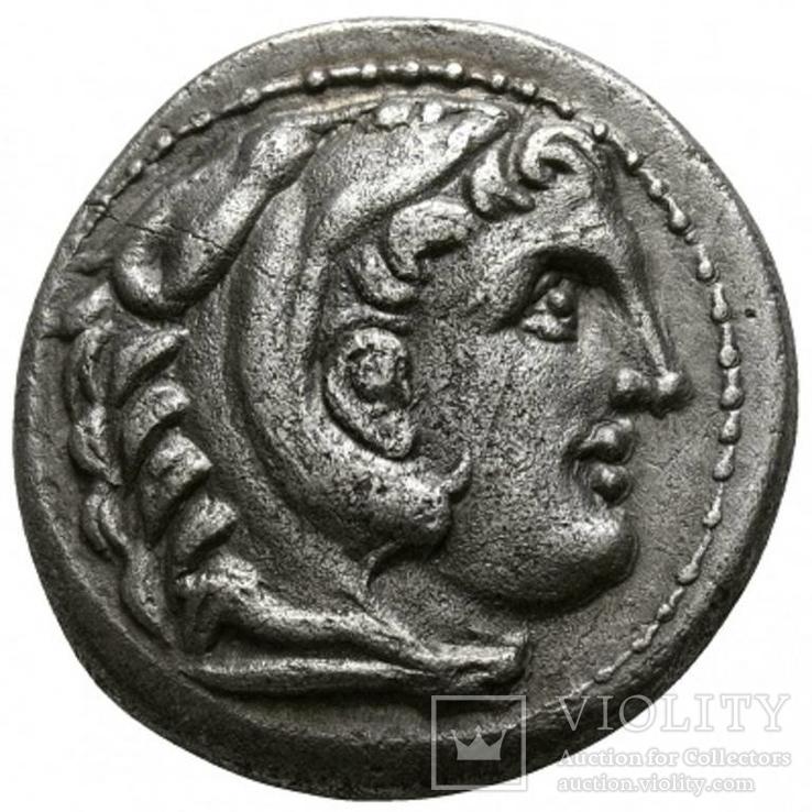 Срібна тетрадрахма Олександр ІІІ Великий