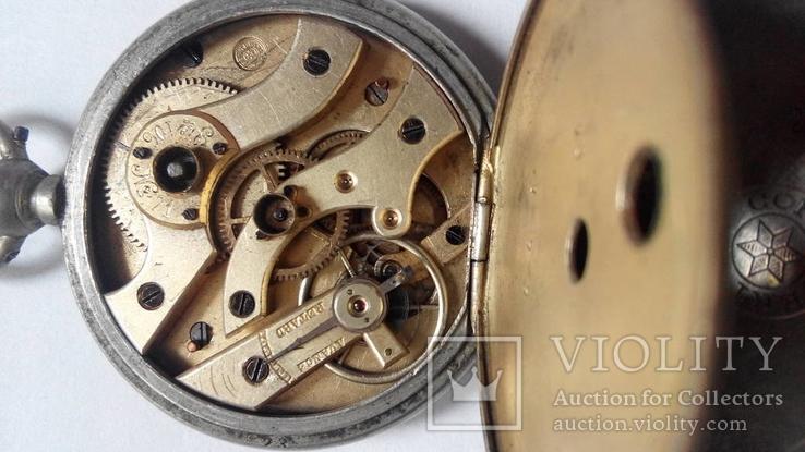 Карманные часы Cortebert ключевка, фото №2