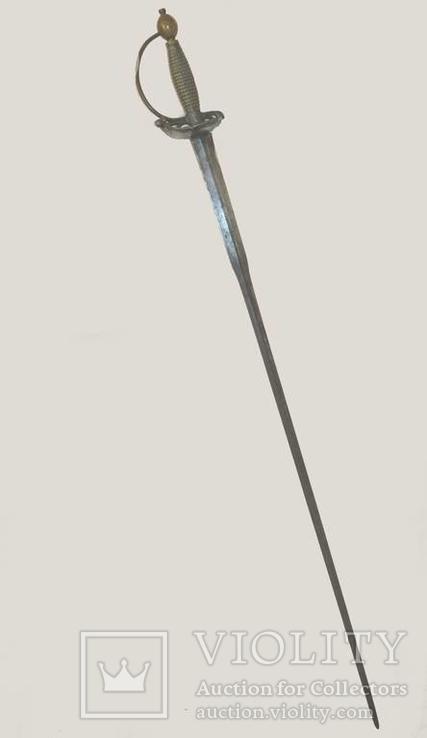 Валлонская шпага( колишмард) XVII века