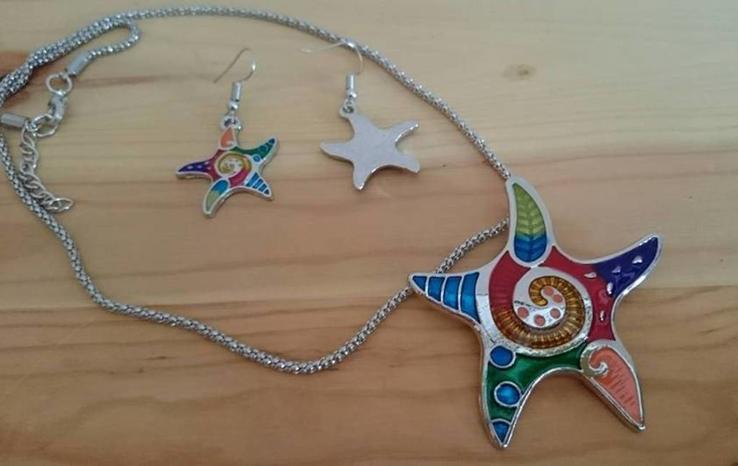 Набор украшений Морская звезда, фото №5