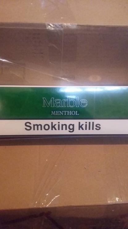 "Сигареты ""Marble mentol"" (Швейцария)"