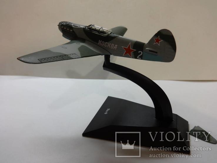 Модель самолета истребитель-бомбардировщик ЯК - 9 на запчасти или под восстановление, фото №6
