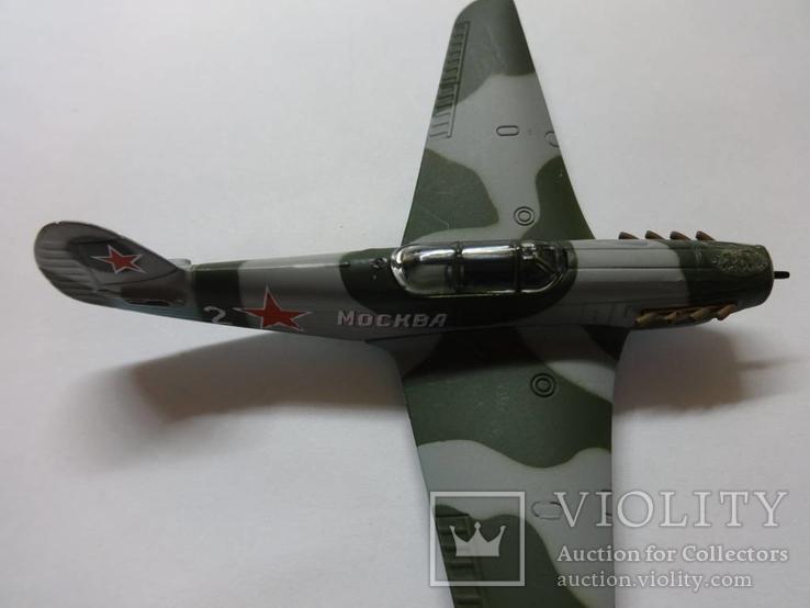 Модель самолета истребитель-бомбардировщик ЯК - 9 на запчасти или под восстановление, фото №10