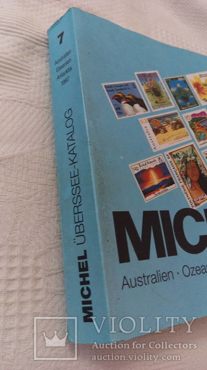 Каталог марок Михель  Австралия, Океания, Антарктида 1997б/у, фото №4