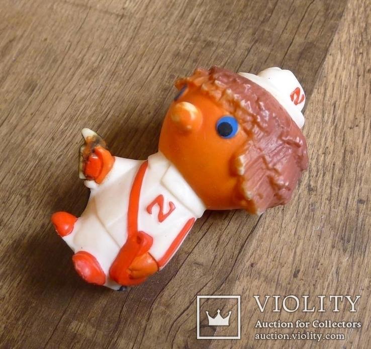 Польская винтажная резиновая игрушка, фото №10