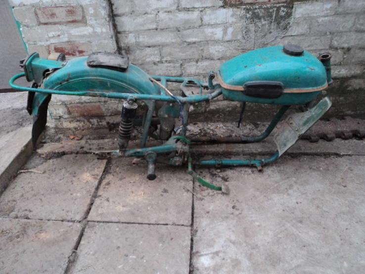 Урал рама мотоцикла и прочее.