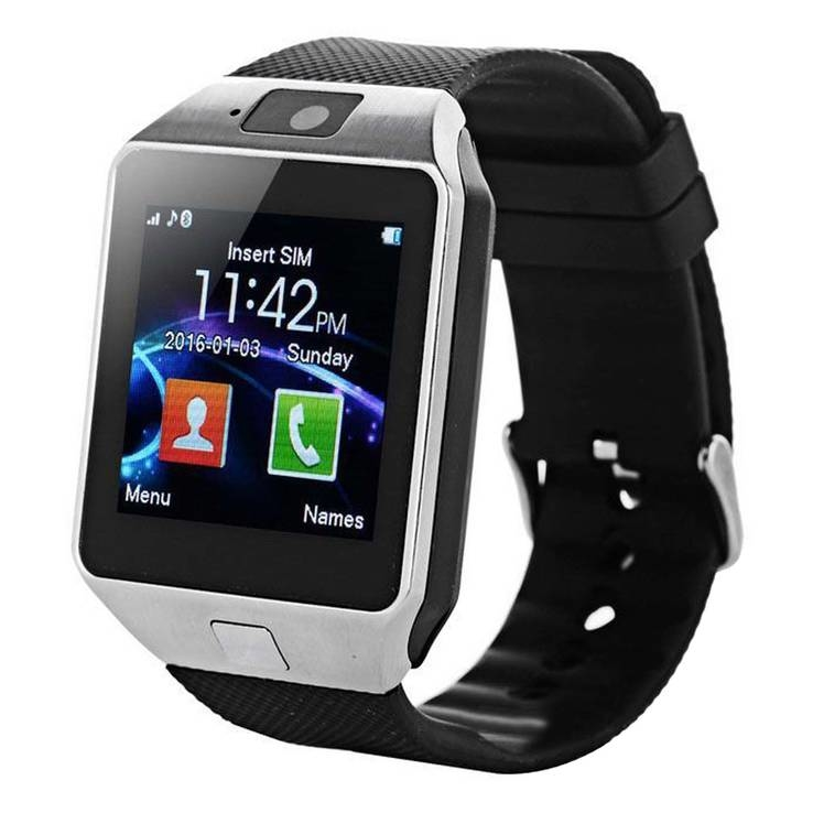 Смарт часы Smart Watch DZ09 Silver