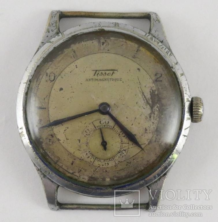 Часы Tissot antimagnetique. Рабочие
