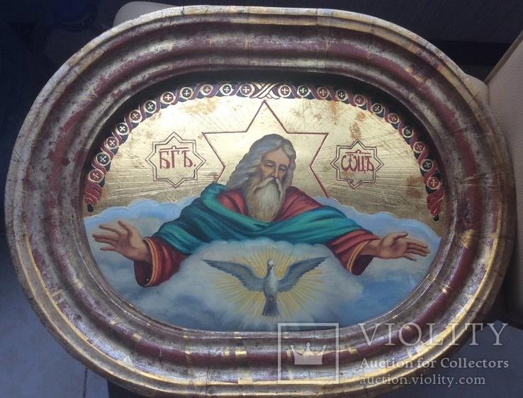Большая икона Бог Отец