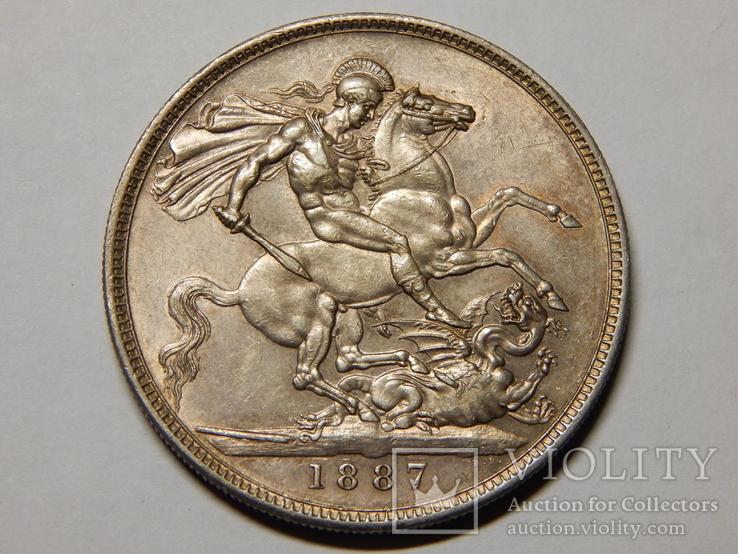 1 крона, 1887 г Великобритания