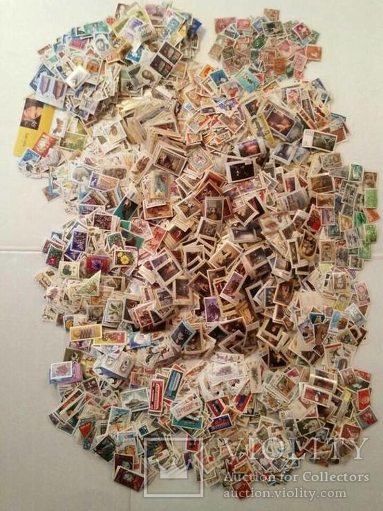 Лот марок стран мира и СССР ( 5600 шт. и около 200 блоков и квартблоков )