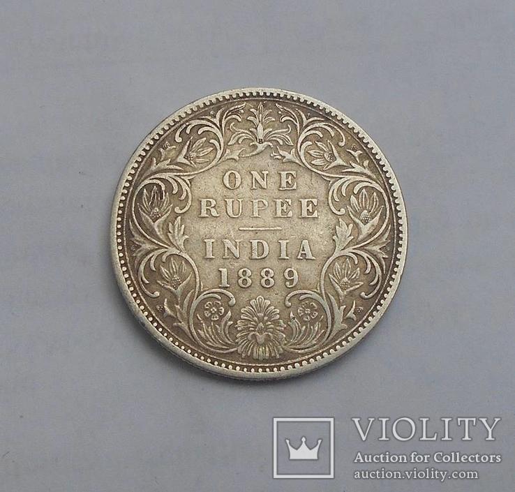 1 Рупия 1889 Британская Индия