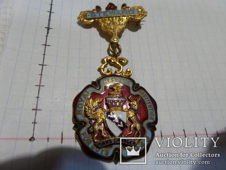 Масонская медаль 1946 год знак масон 1761