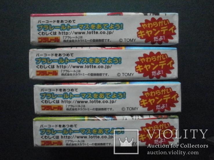 """4 пачки японских жевательных резинок Lotte """"Паравозик Томас"""", фото №5"""