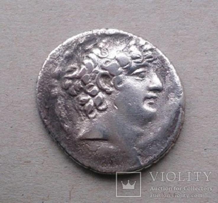 Срібна тетрадрахма Філіпп І Філадельфос (95 - 75 рр. до н. е.)