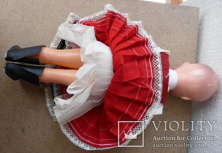 Лялька кукла в национальной одежде Чехословакия 30см, фото №7