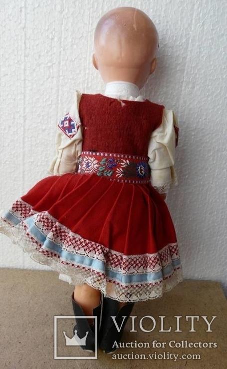 Лялька кукла в национальной одежде Чехословакия 30см, фото №9