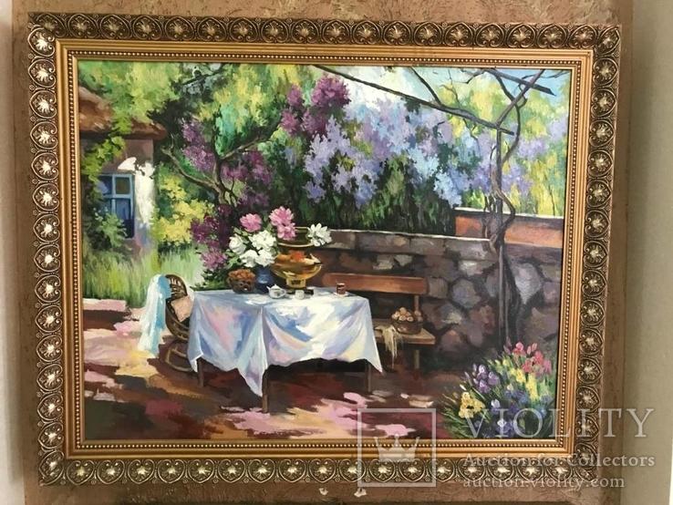"""Пейзаж """"В Цветочном Саду"""""""
