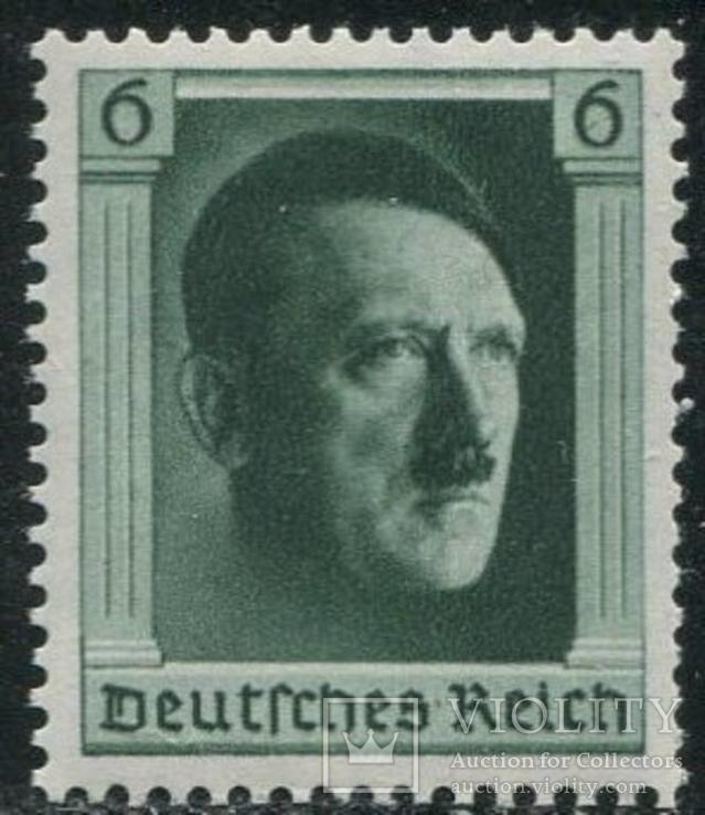 1937 Рейх гитлер марка из блока MNH **
