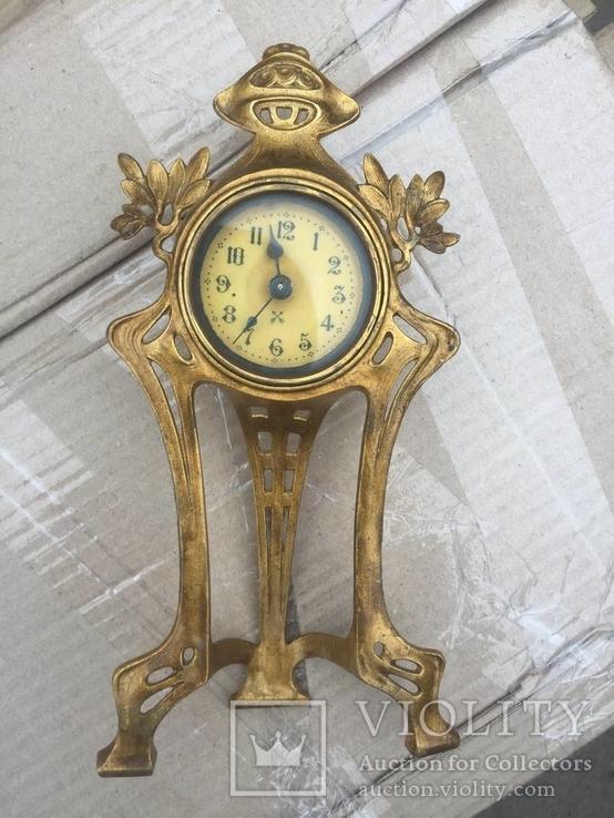 Старинные немецкие часы фирмы HAU