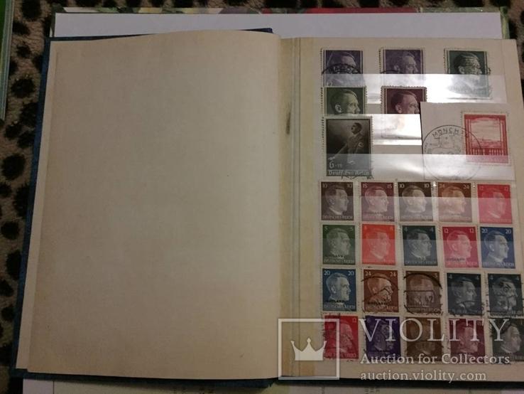 Коллекция марок (3Рейх,Царизм ,Англия,Европа