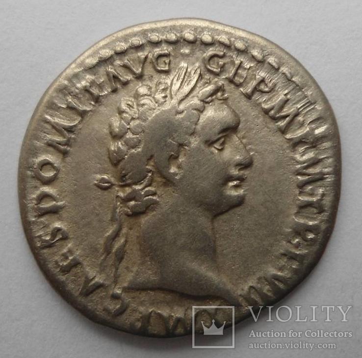 Денарий Домициана 88 г.н.э.
