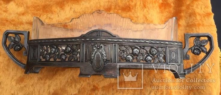Конфетница (Br. Henneberg) родное стекло