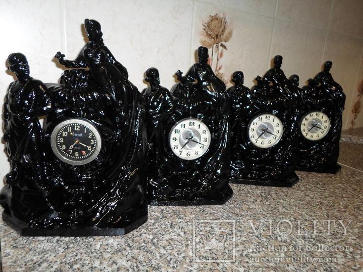 Часы, годинник каминные, настольные