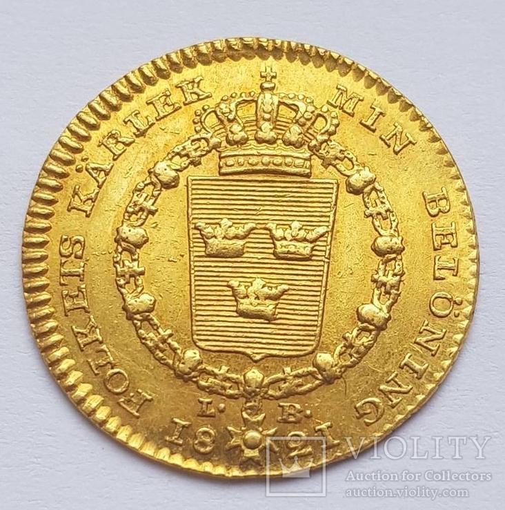 Дукат 1819. Швеция.