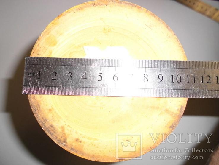 Ваза деревянная с росписью, фото №10