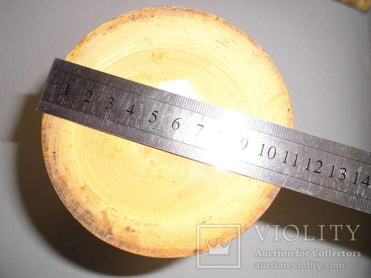 Ваза деревянная с росписью, фото №11