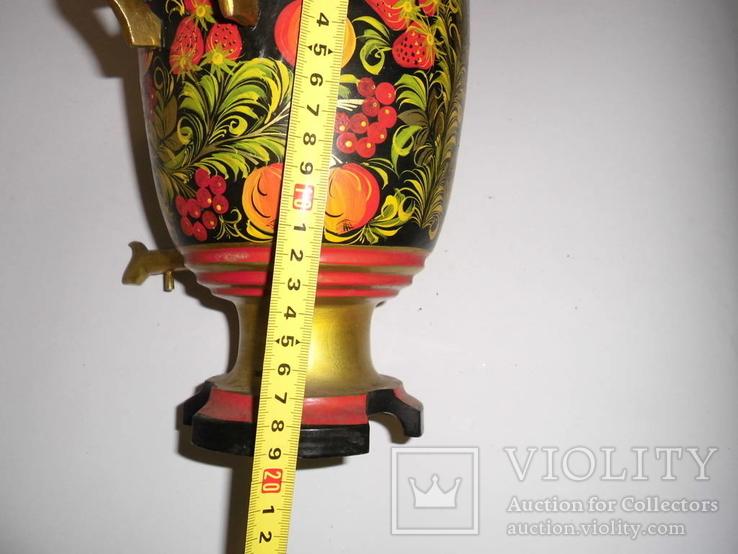 Самовар с подставкой (хохлома), фото №20