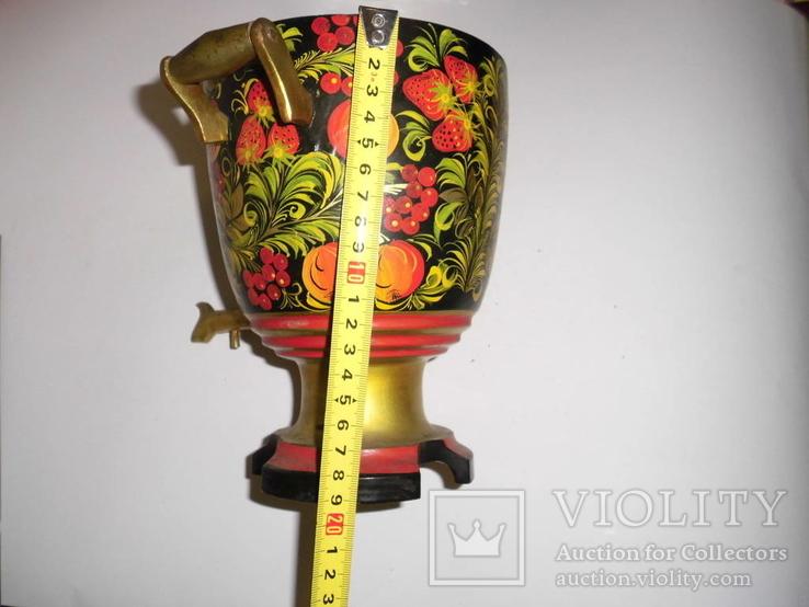 Самовар с подставкой (хохлома), фото №21