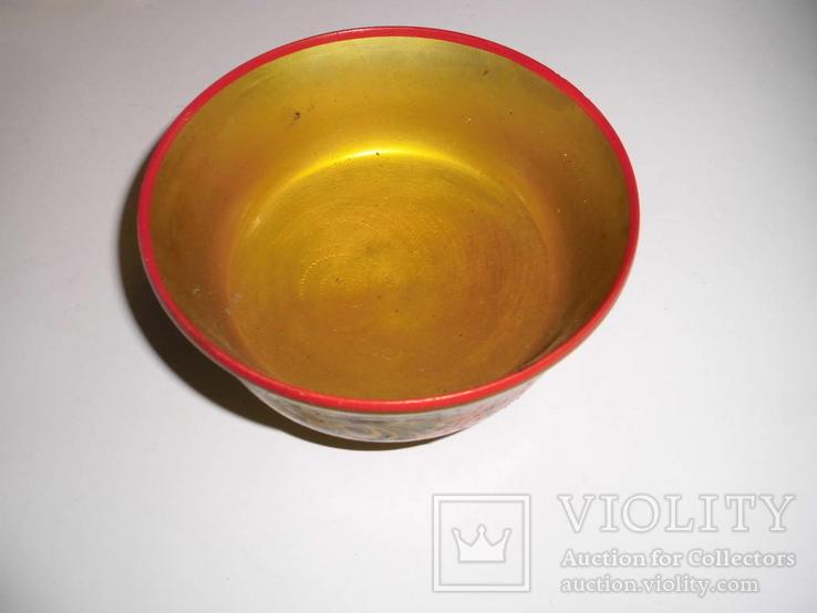 Ваза для фруктов (хохлома), фото №3