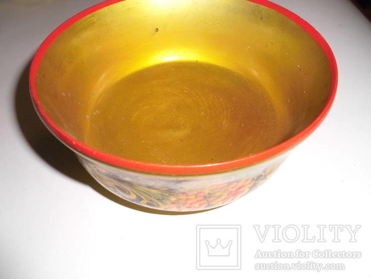 Ваза для фруктов (хохлома), фото №4