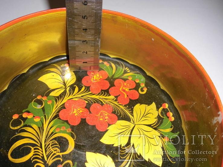 Ваза для фруктов (хохлома)-2, фото №5