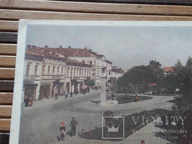 1266. Почтовая карточка Коломыя Площадь Ленина 1959 год, фото №3