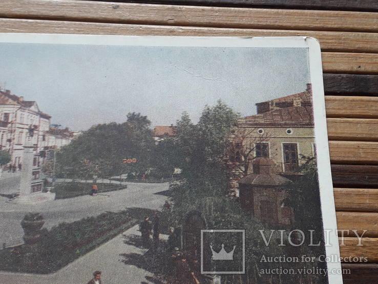 1266. Почтовая карточка Коломыя Площадь Ленина 1959 год, фото №4