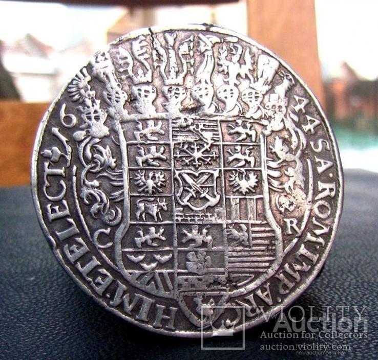 Талер 1644.Саксония.Иоан Георг.