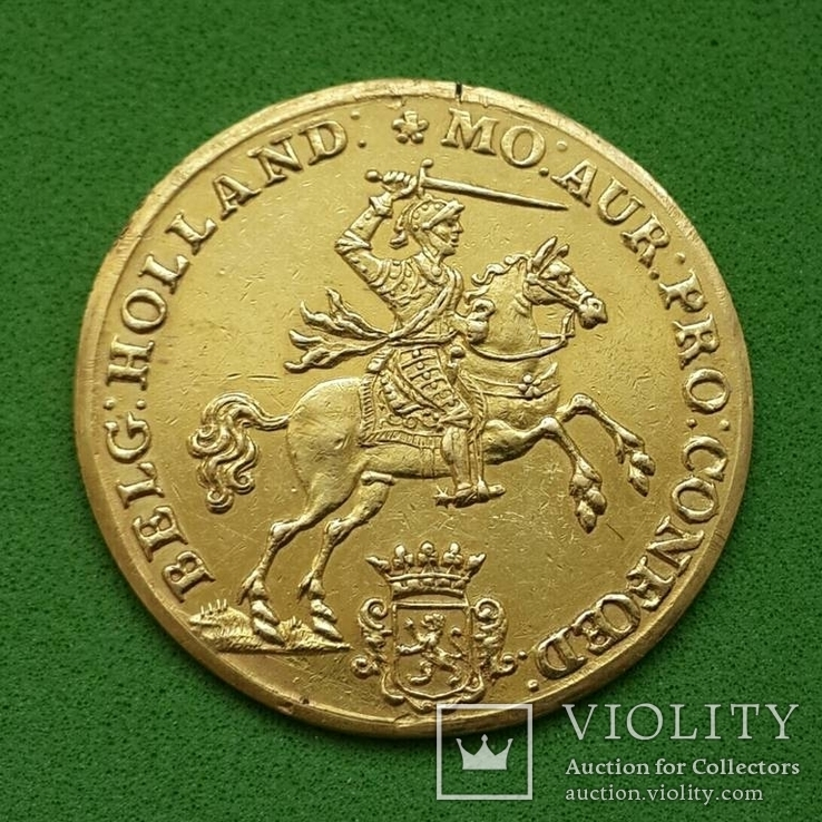 14 гульденов Голландия 1751 г. Золото