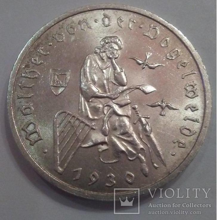 Веймар: 3 марки 1930 року (Фогельвайде)