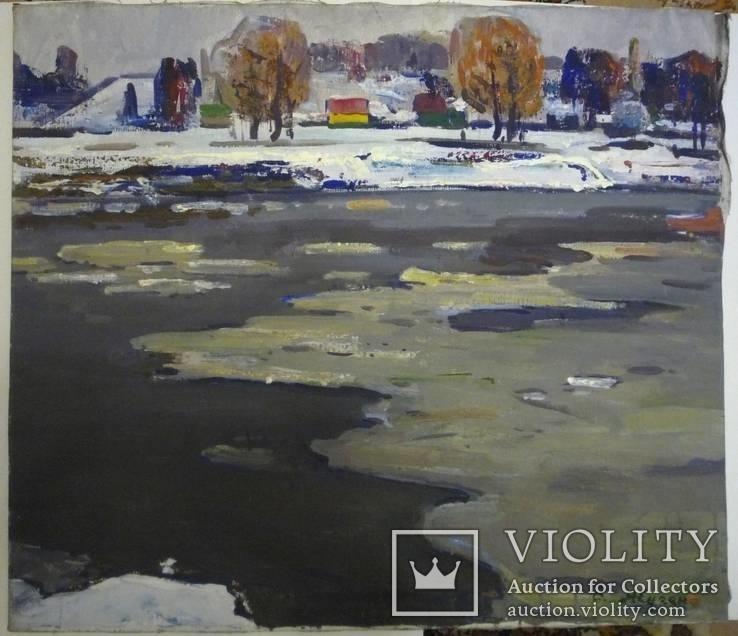 В.А. Жуган-известный живописец. Музейная работа