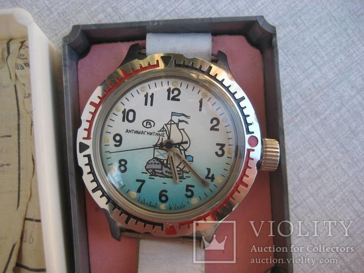 Часы амфибия антимагнитные новые